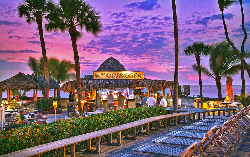 Sonnenuntergang @ Outrigger (c) The Beaches of Fort Myers & Sanibel
