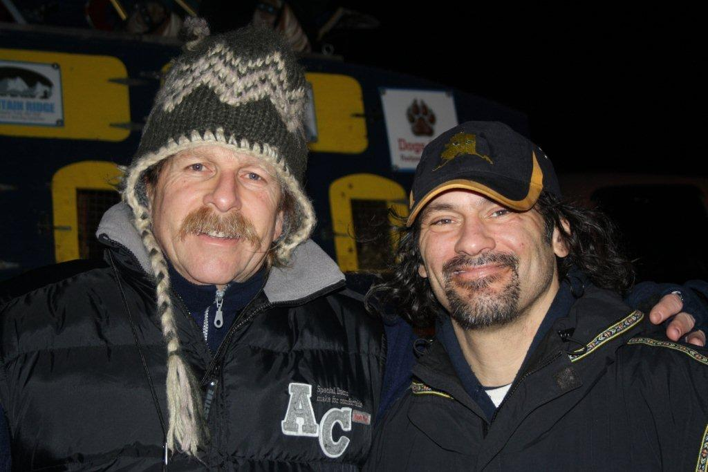 Sui Kings mit Hugh Neff (c) Sui Kings / Yukon Quest