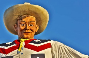 Dallas - BIg Tex (c) Dallas CVB