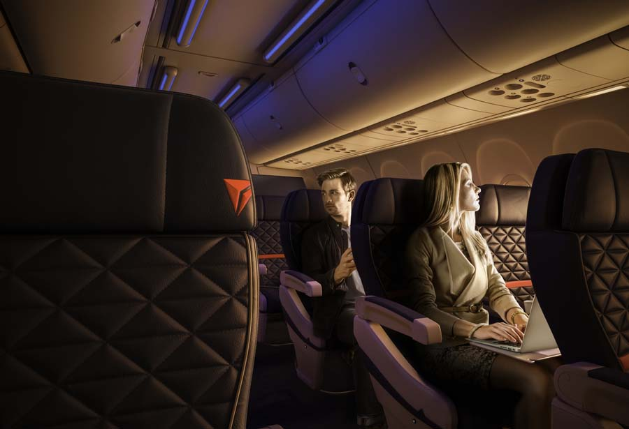 First Class © DELTA AIR LINES, INC.
