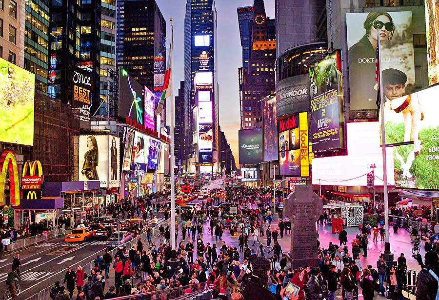 Time Square (C) NYCgo