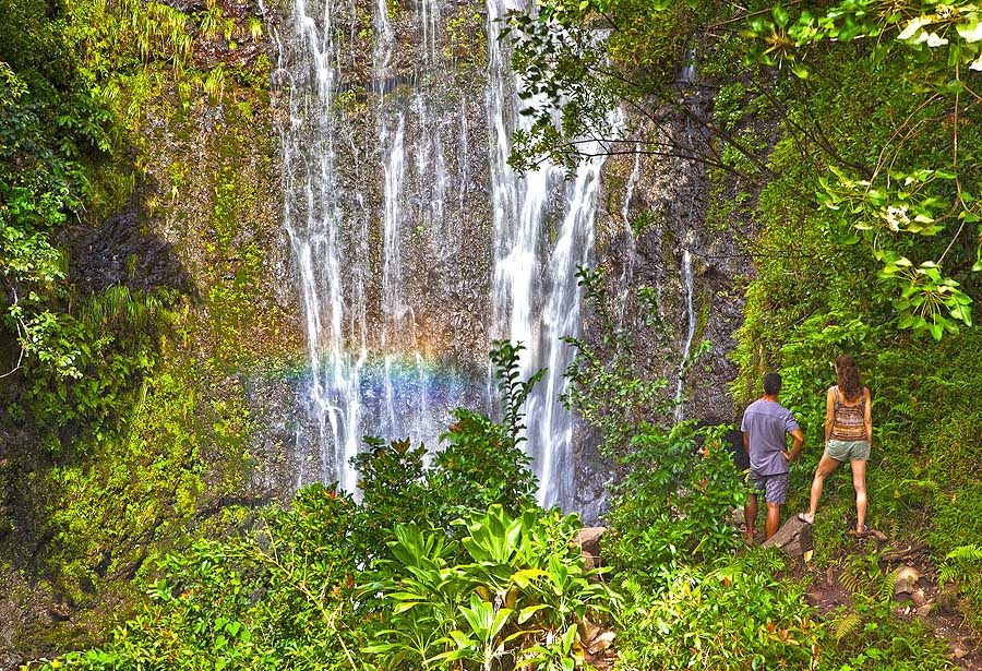Wasserfall (c) Hawaii Tourism Authority (HTA)