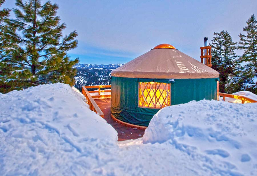 Yurt (c) Idaho Department of Commerce