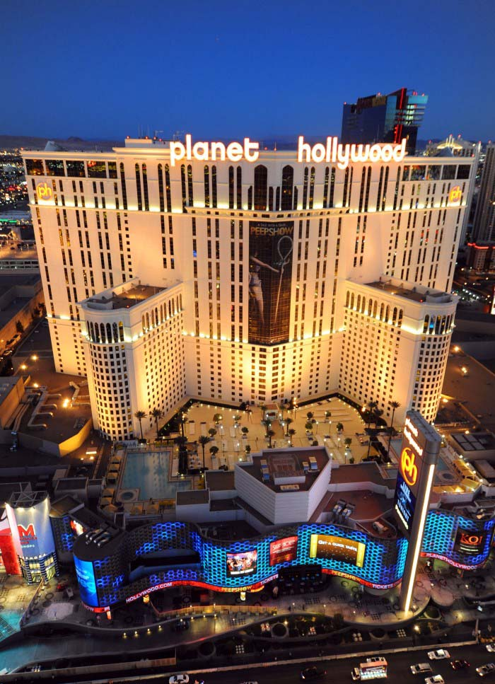 Planet Hollywood © Las Vegas News Bureau