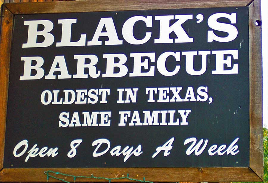 Blacks's Barbecue © Texas Tourism