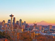 Seattle Skyline (c) Howard Frisk