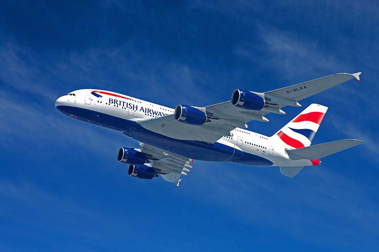 BA (c) British Aiirways