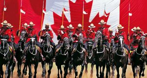 RCMP Musical Ride (c) John McQuarrie
