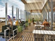 United Club LAX (c) United Airlines