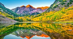 Maroon Bells, Aspen (c) Colorado-Tourism-Office