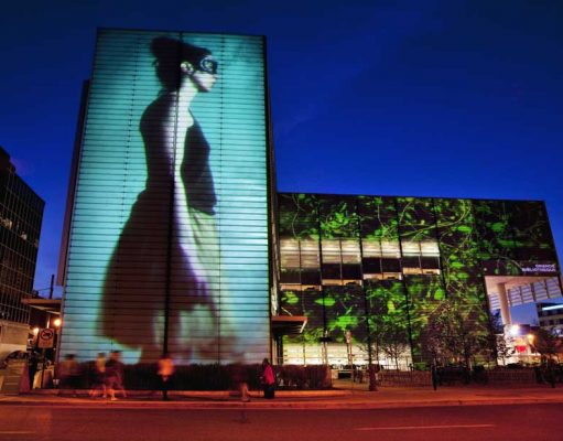 Strassentheater in Montréal (c) Quartier des spectacles Lighting
