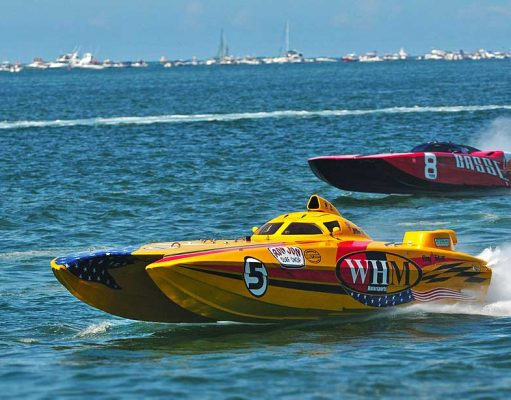 Schnellboot (c) Clearwater Super Boat National Championship