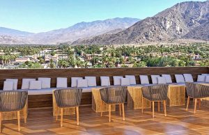 Saints Side Patio_Kimpton Rowan Palm Springs © Rachel Ayotte