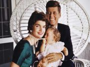 John, Jacqueline and Caroline Kennedy (c) Estate of Jacques Lowe