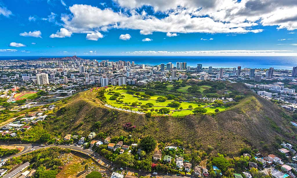 Diamond Head (c) Hawai'i Tourism Authority
