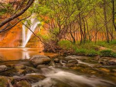 Lower Calf Creek.(c) Kane County Office of Tourism