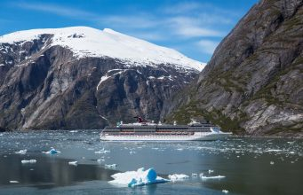 Carnival Miracle in Tracy Arm - Alaska